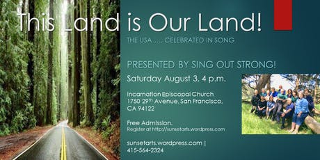 This Land is Our Land! The USA ... celebrated in song! tickets