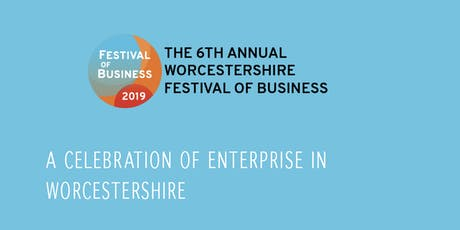The Worcestershire Festival of Business - NETWORKING BREAKFAST  tickets