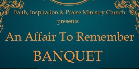An Affair To Remember Formal Banquet tickets