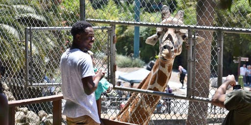 Feed a Giraffe at Oakland Zoo and Save Giraffes in the Wild, September 28, 2019