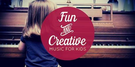 June 22 Free Music Class for Kids (Centennial, CO) tickets