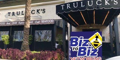 Biz To Biz Networking at Truluck's Galleria tickets