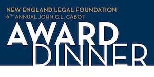 New England Legal Foundation - John G.L. Cabot Award...