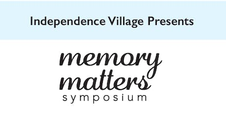Independence Village of Grand Ledge Memory Matters Symposium  tickets