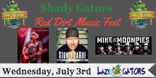 Shady Gators Red Dirt Music Fest