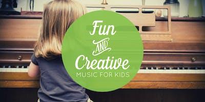 July 20 Free Music Class for Kids (Centennial, CO)
