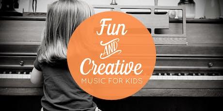 July 27 Free Music Class for Kids (Centennial, CO) tickets