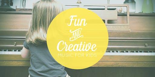 Aug. 10 Free Music Class for Kids (Centennial, CO)