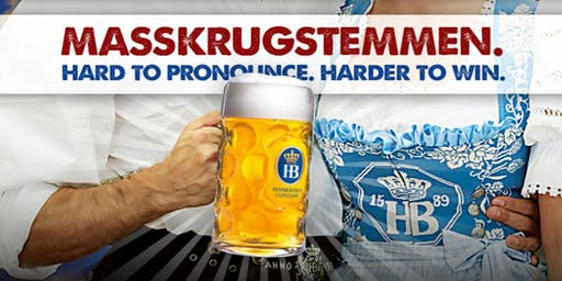 Stein Hoisting Competition - Sponsored by Hofbrau