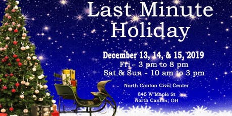 Last Minute Holiday Craft & Vendor Show  tickets