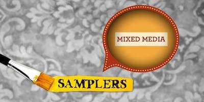 Mixed-Media Painting Sampler • September 14