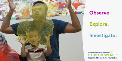 Baby Artsplay!™ at New Orleans Museum of Art: Baby Balancing Acts (Bilateral Integration)
