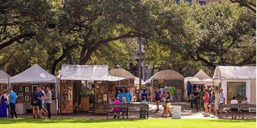 Bayou City Art Festival Downtown 2019