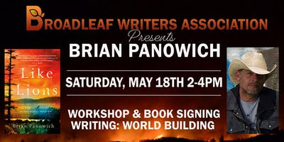 Brian Panowich Workshop and Signing Like Lions