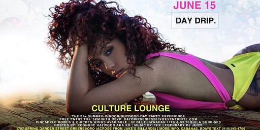 Day Drip Day Party Series LGBTQ