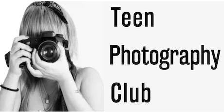 Teen Photography Club tickets