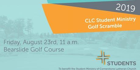 2019 CLC Student Ministry Golf Scramble tickets