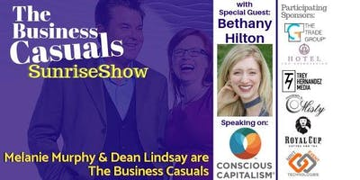 The Business Casuals SunriseShow featuring Bethany Hilton