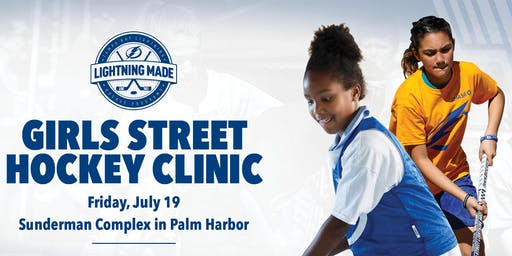 Girls Street Hockey Clinic - Sunderman Complex in Palm Harbor