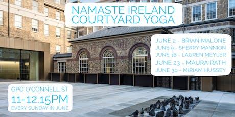 NAMASTE IRELAND COURTYARD YOGA tickets