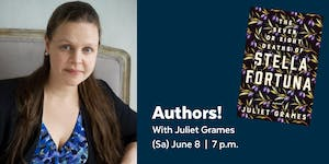 Authors! with Juliet Grames presented by the Library...