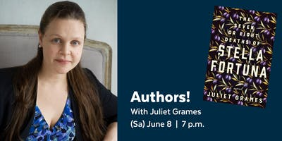 Authors! with Juliet Grames presented by the Library Legacy Foundation