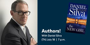 Authors! with Daniel Silva presented by the Library...