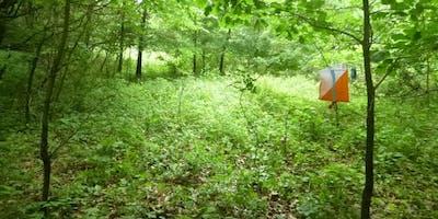 Deer Lakes Park map and compass orienteering workshop