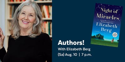 Authors! with Elizabeth Berg presented by the Library Legacy Foundation