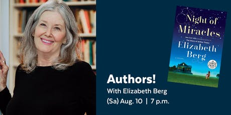 Authors! with Elizabeth Berg presented by the Library Legacy Foundation tickets