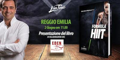 REGGIO EMILIA   Presentazione libro Formula HIIT