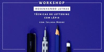 Desenhando Letras - Workshop de Lettering   São P