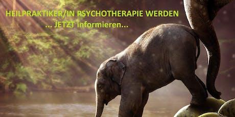 Heilpraktiker für Psychotherapie - PrüfungsCoaching 3 Monate intensiv online Tickets