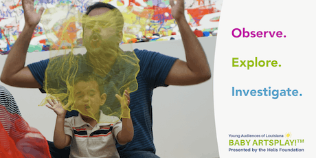 Baby Artsplay!™ 3 to 4 year olds at the New Orleans Museum of Art: Fun at the Zoo (Motor Skills) tickets