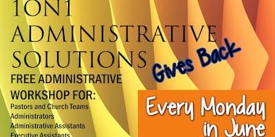 Free Community Administrative Workshop