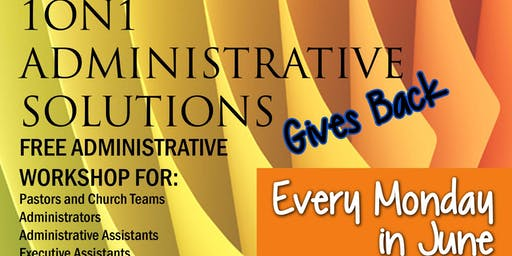 Free Community Administrative Workshop