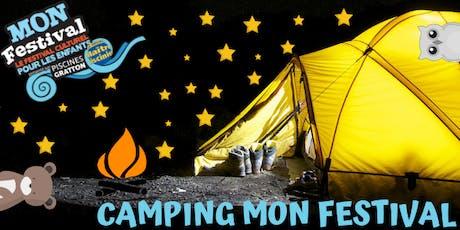 Camping Mon Festival billets