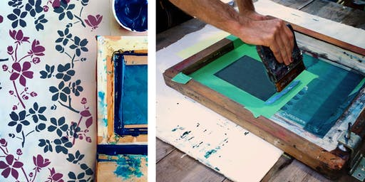 Fabric Printing Afternoon Workshop