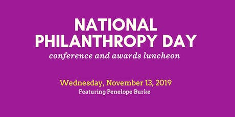 National Philanthropy Day Awards and Conference - 2019 tickets