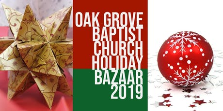 Holiday Bazaar Vendors  tickets