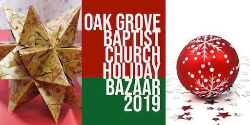 Holiday Bazaar Vendors