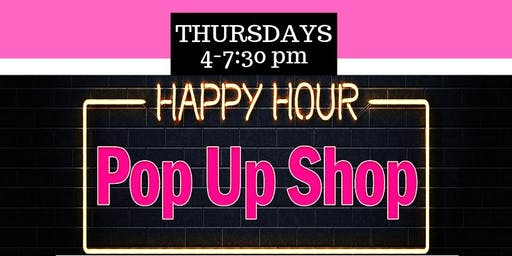 Happy Hour Pop Up Shop