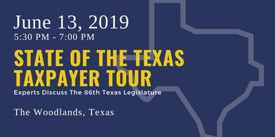 State of the Taxpayer Tour — The Woodlands