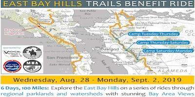 2019 East Bay Hills Trails Benefit Ride