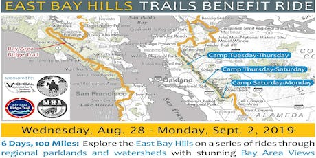 2019 East Bay Hills Trails Benefit Ride  tickets