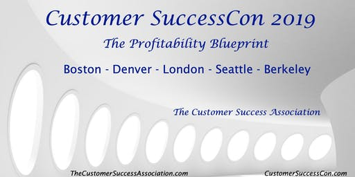 Customer SuccessCon London 2019