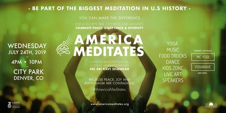 America Meditates 2019 tickets