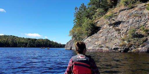 Women's Backcountry Canoe and YogaHike Fall Weekend