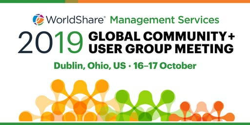2019 OCLC WMS Global Community + User Group Meeting