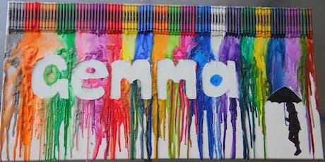 Crayon Melt Name  tickets